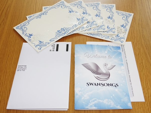 Swansongs Pack Contents